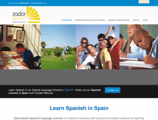 zadorspain.com screenshot
