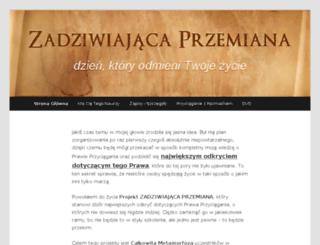 zadziwiajaca-przemiana.pl screenshot