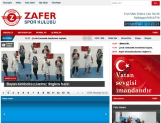 zafersporkulubu.com screenshot