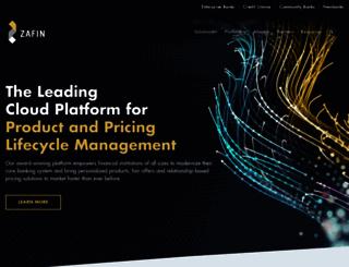 zafin.com screenshot