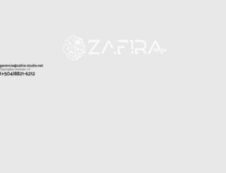 zafira-studio.net screenshot
