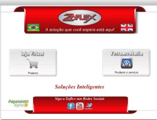 zaflex.com.br screenshot