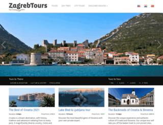zagrebtours.com screenshot