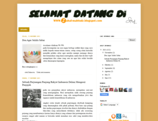zahal-mahfudz.blogspot.com screenshot