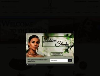 zaheenk.com screenshot