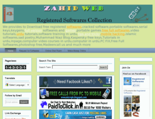 zahidweb.blogspot.com screenshot