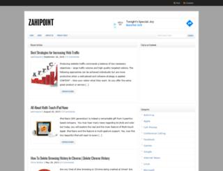 zahipoint.com screenshot