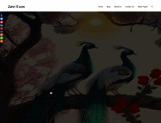 zahirit.com screenshot