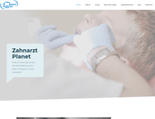 zahnarzt-planet.com screenshot