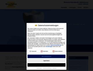 zahnarztpraxis-marendeblon.de screenshot