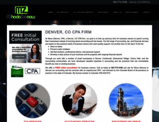 zahnowcpa.com screenshot