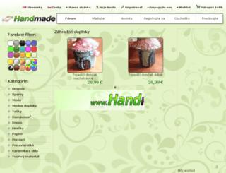 zahradne-doplnky.handmade.sk screenshot