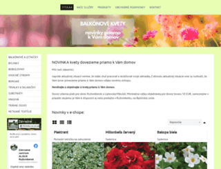 zahradnictvo-algus.sk screenshot