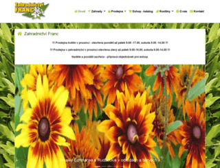 zahrady-rostliny.cz screenshot