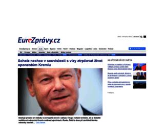 zahranicni.eurozpravy.cz screenshot