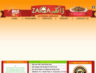 zaiqafoodsydney.com screenshot