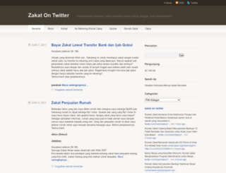 zakatcorner.wordpress.com screenshot