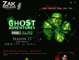 zakbagans.com screenshot