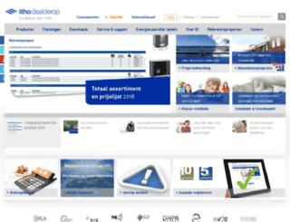 zakelijk.ithodaalderop.nl screenshot