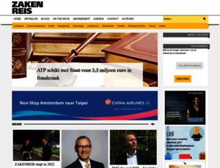 zakenreis.nl screenshot