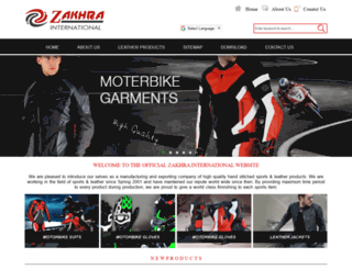 zakhraintl.com screenshot