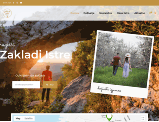 zakladi-istre.si screenshot