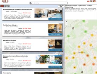 zakopanecity.pl screenshot
