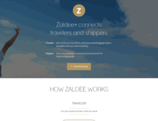 zaldee.com screenshot