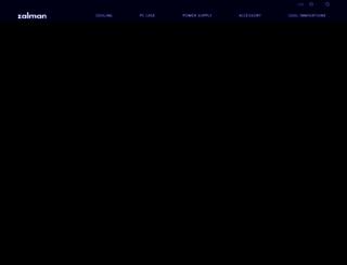 zalman.com screenshot