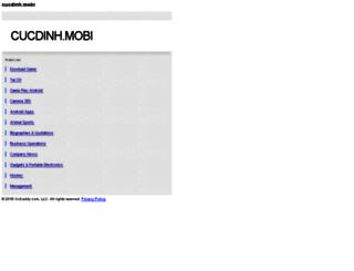 zalo.cucdinh.mobi screenshot