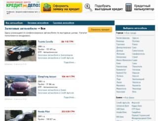 zalog.creditdeposit.com.ua screenshot