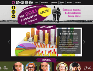 zalubeni.sk screenshot