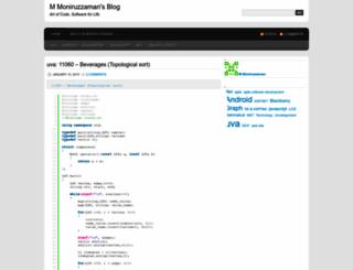 zaman91.wordpress.com screenshot
