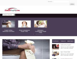 zamansaglik.com screenshot