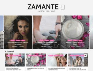 zamante.com screenshot