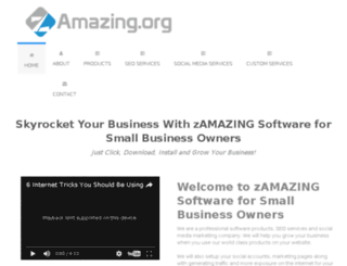zamazing.org screenshot