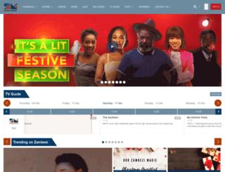 zambezimagic.dstv.com screenshot