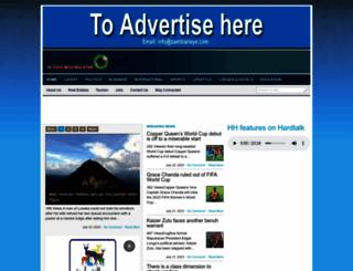 zambianeye.com screenshot