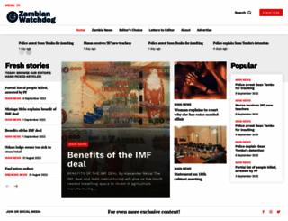 zambianwatchdog.com screenshot