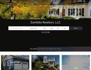 zambitorealtors.com screenshot