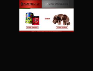 zambranet.com.ar screenshot