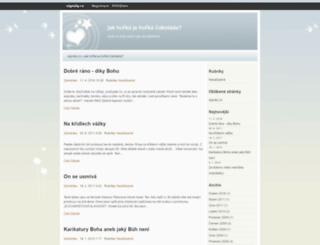 zamdotex.signaly.cz screenshot