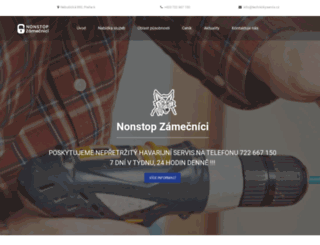 zamecnictvi-zamecnici.cz screenshot