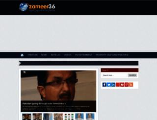 zameer36.com screenshot
