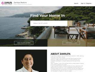 zamilparealtors.com screenshot