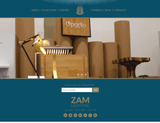 zamlighting.com screenshot