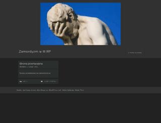 zamordyzm.wordpress.com screenshot