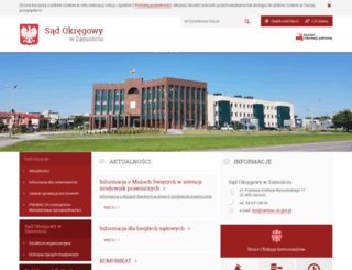 zamosc.so.gov.pl screenshot