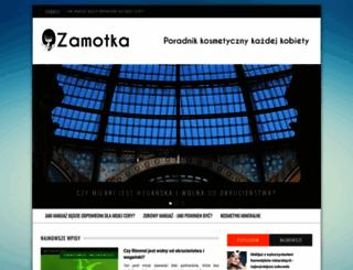 zamotka.pl screenshot