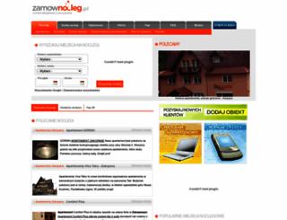 zamownocleg.pl screenshot